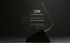 IBM: Contribution Award 2012