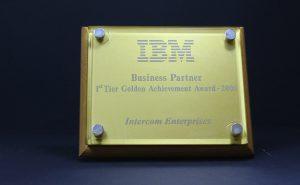 IBM : 1st tier golden achievement award 2006