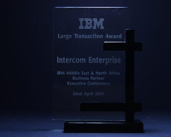 IBM : Large transaction award