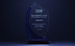 IBM : Top contribution award IBM HW and SW 2010