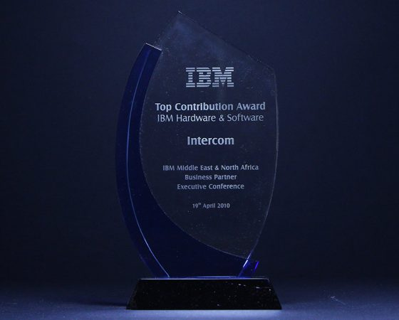 IBM : Top contribution award IBM HW and SW 2010