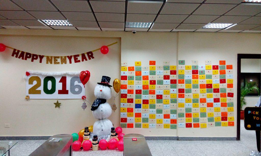 Intercom 2016 New Year Celebrations