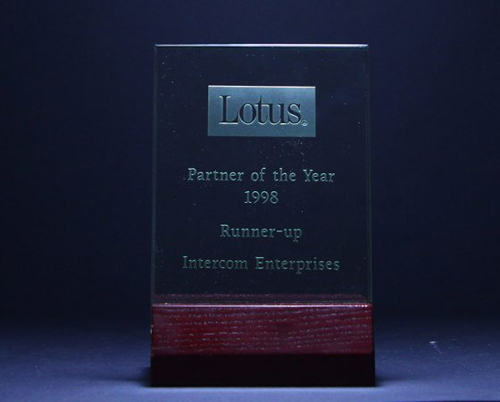 Lotus : Partner of the year 1998
