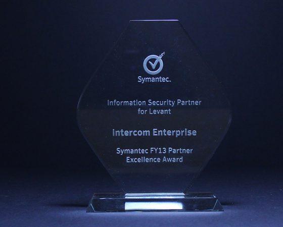 Symantec :  Partner Excellence Award 2013