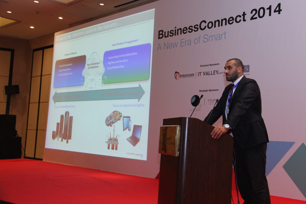 Intercom at IBM Business Connect 2014