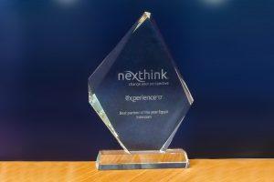 Nexthink: Best Partner of the Year, Egypt award 2017
