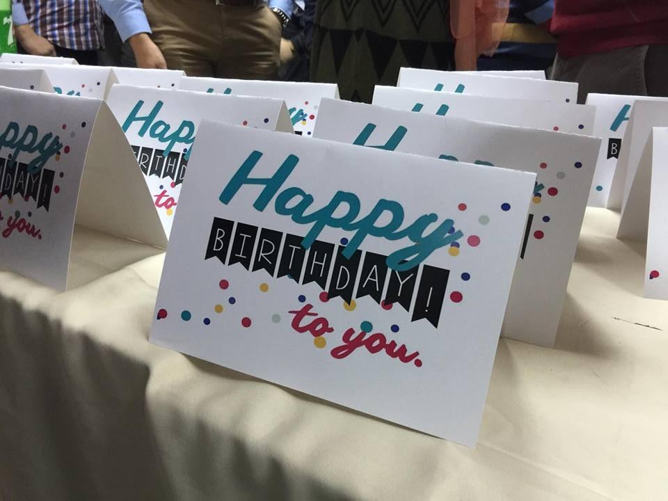 SnapShot from the Birthday Parties